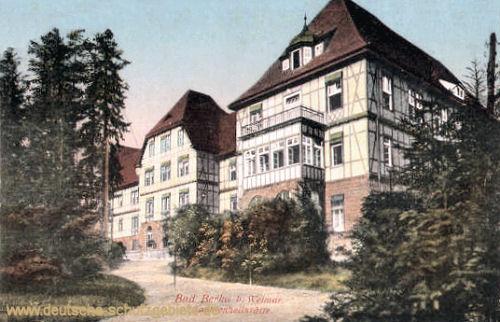 Bad Berka, Sophienheilstätte