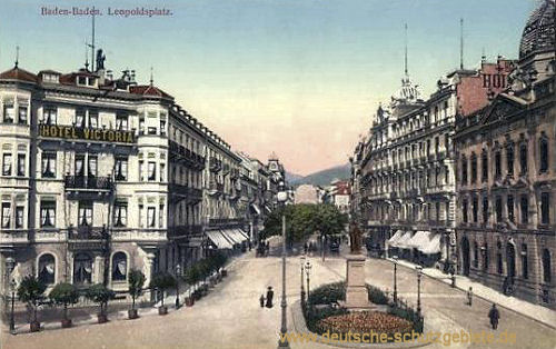Baden-Baden, Leopoldsplatz