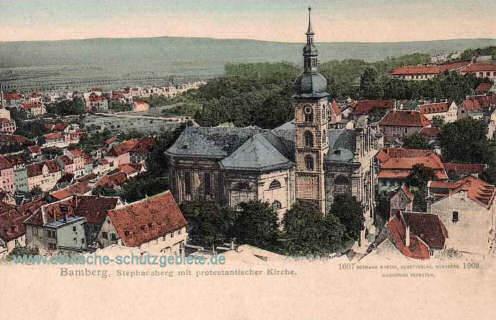 Bamberg, Stephansberg mit protestantischer Kirche