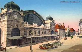 Basel, Hauptbahnhof