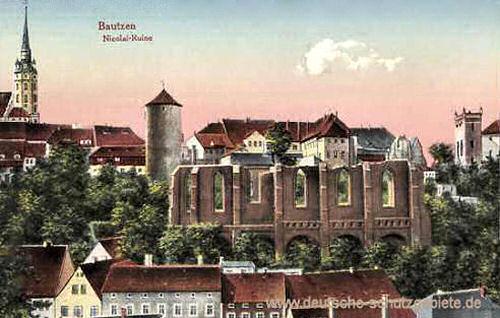 Bautzen, Nikolai-Ruine