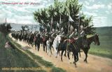 Chevauxlegers auf dem Marsche
