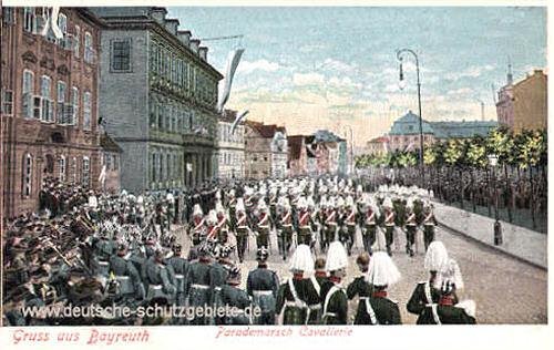 Bayreuth, Parademarsch Cavallerie