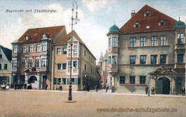 Bayreuth mit Stadtkirche