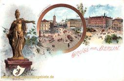 Berlin, Berolina, Königstraße, Grand Hotel