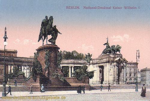 Berlin, National-Denkmal Kaiser Wilhelm I.