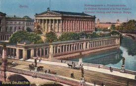 Berlin, Nationalgalerie und Friedrichbrücke