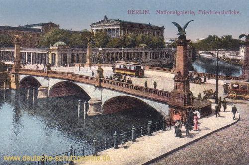 Berlin, Nationalgalerie, Friedrichsbrücke