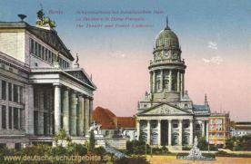 Berlin, Schauspielhaus mit Französischem Dom