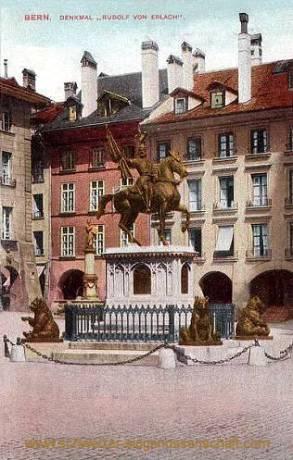 Bern, Denkmal Rudolf von Erlach