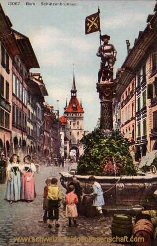 Bern, Schützenbrunnen