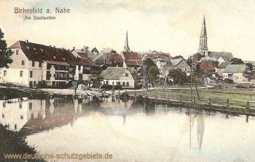 Birkenfeld, Am Stadtweiher