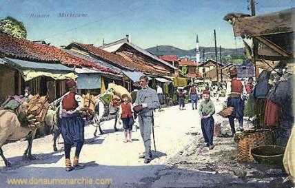 Bosnien, Marktszene