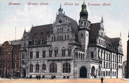 Bremen, Bremer Bank, Filiale der Dresdner Bank