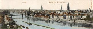 Bremen, Panorama 1902