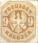 Preussen, 9 Kreuzer