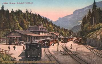 Brünig, Bahnhof (1004 m)