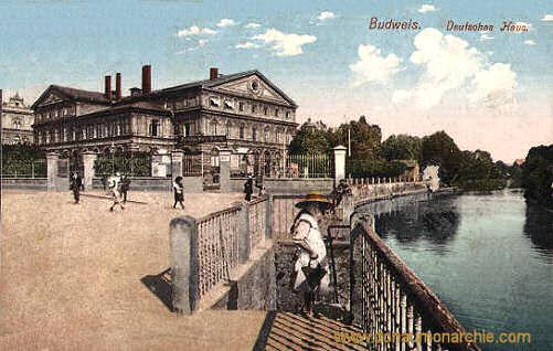 Budweis, Deutsches Haus