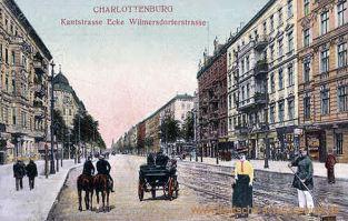 Charlottenburg, Kantstraße Ecke Wilmersdorferstraße
