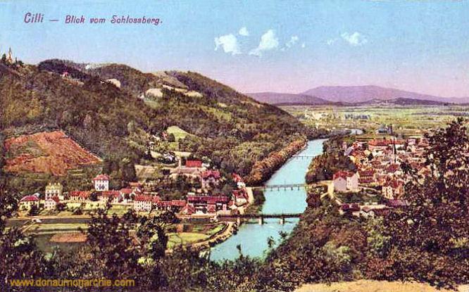 Cilli, Blick vom Schlossberg