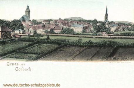 Corbach, Stadtansicht