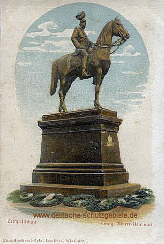 Crimmitschau, König-Albert-Denkmal