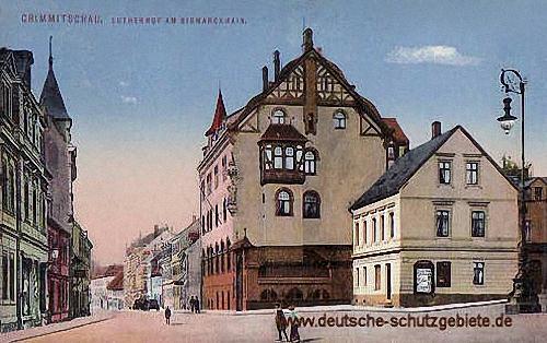 Crimmitschau, Lutherhof am Bismarckhain