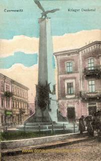 Czernowitz, Kriegerdenkmal