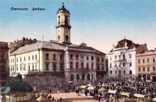 Czernowitz, Rathaus