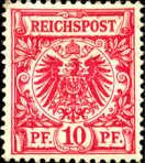 Reichspost 10 Pfennig