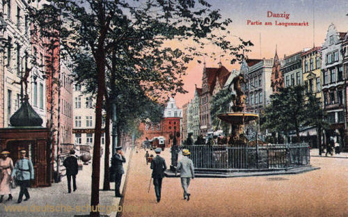 Danzig, Partie am Langenmarkt
