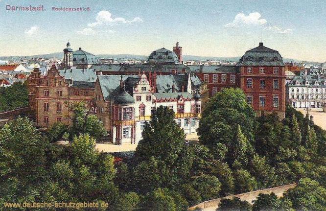 Darmstadt, Residenzschloss