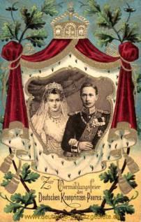 Deutsches Kronprinzen-Paar