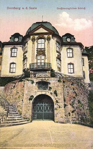 Dornburg, Großherzogliches Schloss