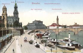 Dresden, Dampfschifflandeplatz