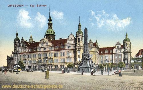 Dresden, Königliches Schloss