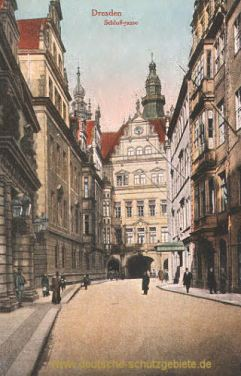 Dresden, Schloßgasse