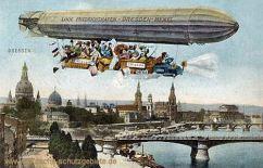 Dresden - Zeppelin, Linie Friedrichshafen - Dresden - Memel
