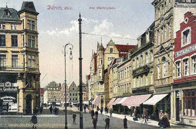 Düren, Am Marktplatz