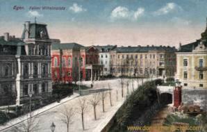 Eger, Kaiser Wilhelmplatz