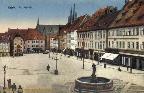 Eger, Marktplatz