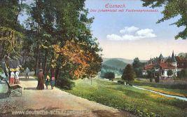 Eisenach, Das Johannistal mit Feodorenpromenade
