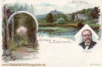 Eisenach, Villa Fritz Reuter