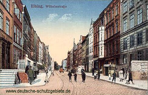Elbing, Wilhelmstraße