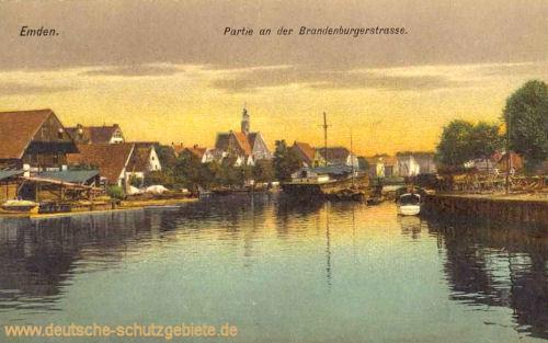 Emden, Partie an der Brandenburgerstraße