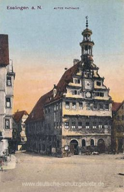 Esslingen a. N., Altes Rathaus