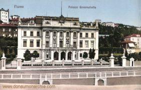 Fiume, Palazzo Governatorile