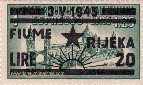Fiume Rijeka, 3. V. 1945