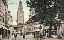 Freiburg i. B., Oberlinden mit Schwabentor