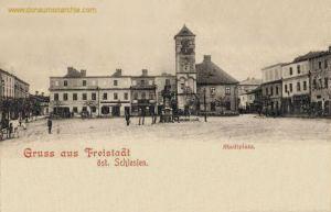 Freistadt öst. Schlesien, Stadtplatz